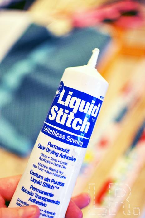 Liquid Stitch Fabric Glue
